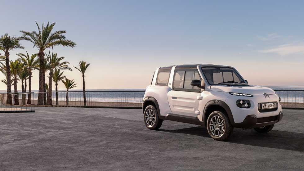 Citroën e-Mehari 2018: el SUV eléctrico, ahora con techo rígido