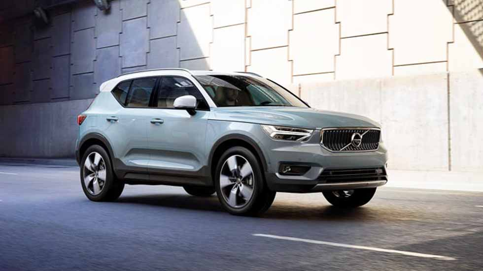volvo xc40 confirmada la versi n h brida plug in para el nuevo suv. Black Bedroom Furniture Sets. Home Design Ideas