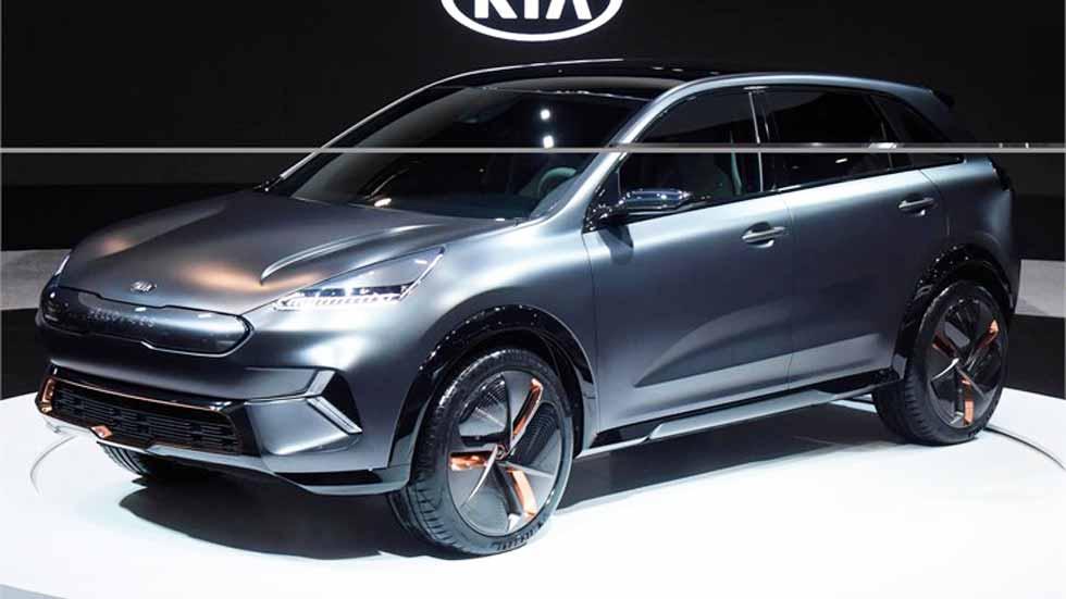 Kia Niro EV Concept: fotos y datos oficiales del próximo SUV eléctrico