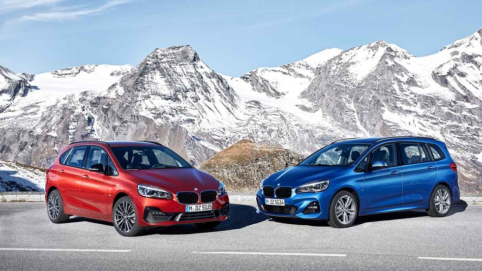 BMW Serie 2 Active Tourer y Gran Tourer 2018: diseño y motores al día