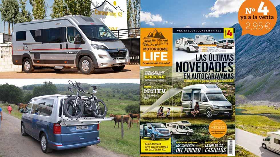 Motorhome Life: ya a la venta la revista de las autocaravanas y del tiempo libre