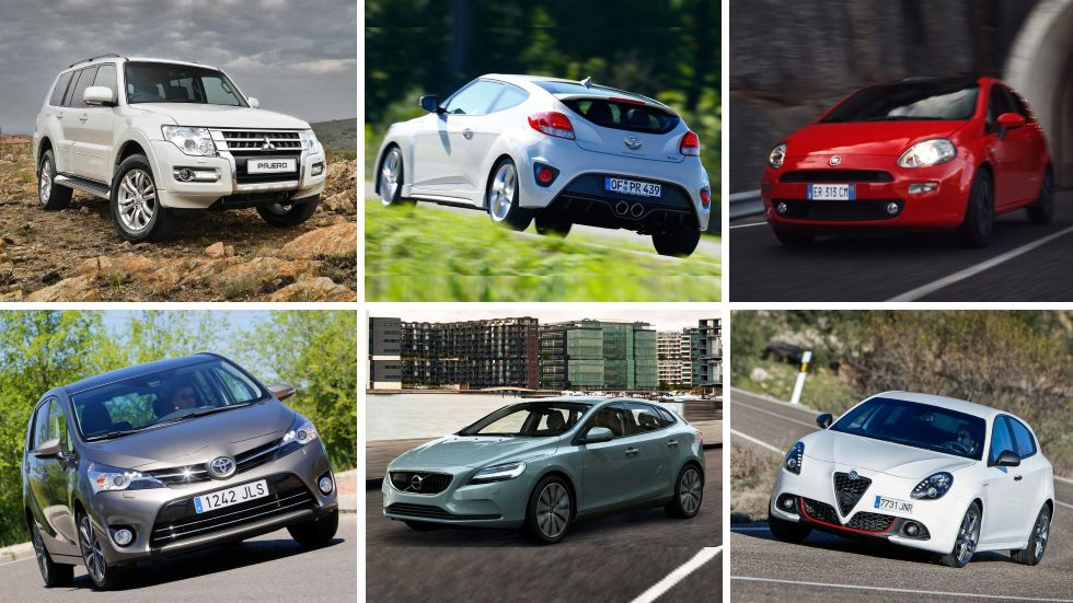 Renovarse o morir: 10 coches que piden a gritos su sustitución
