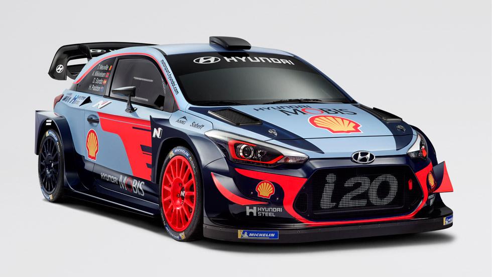 Hyundai i20 Coupé WRC 2018, el coche de Sordo para el Mundial de Rallyes