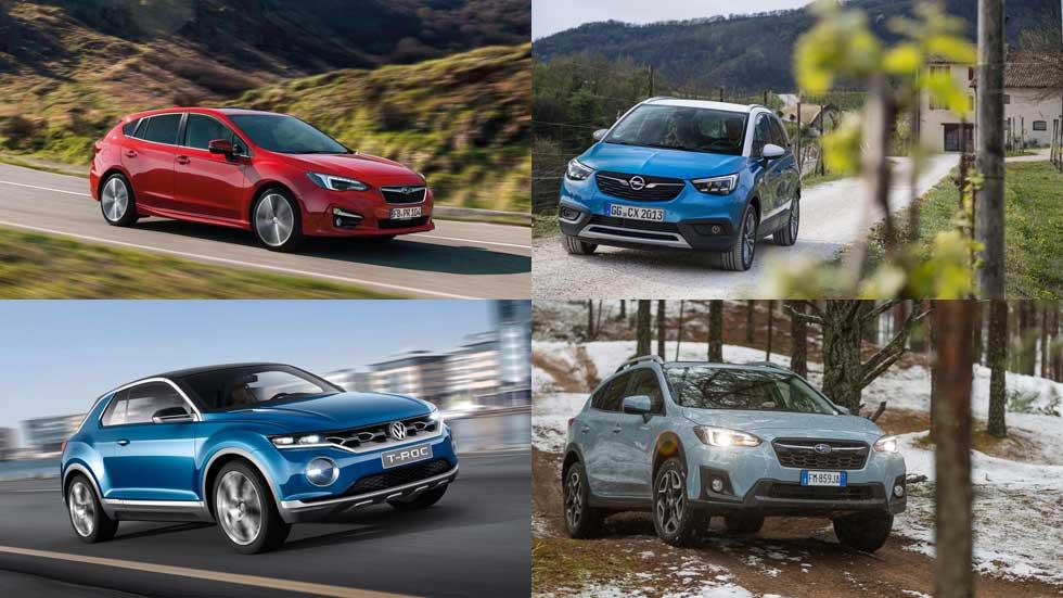 Los coches y SUV más seguros en los test Euro NCAP de 2017