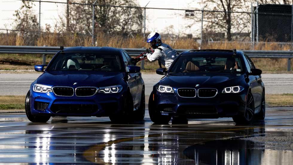 BMW establece dos nuevos Récord Guiness derrapando con el nuevo M5 (Vídeo)