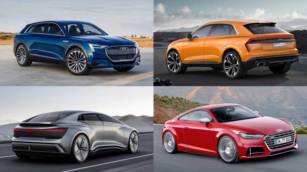 Todos los coches y SUV nuevos de Audi hasta 2024: A3, A4, Q3, Q4...