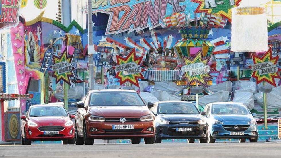 Comparativa: VW Polo, Ford Fiesta, Kia Rio y Opel Corsa, ¿qué coche interesa?