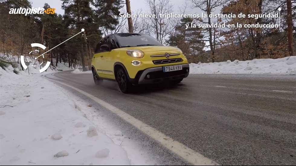 Aplica estos consejos para conducir seguro en la nieve (Vídeo)