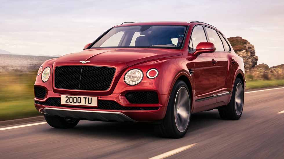 Bentley Bentayga V8: el SUV de lujo, ahora con 550 CV