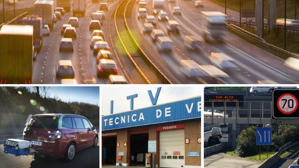 Más control en consumos y emisiones de coches: radares, ITV, norma WLTP…