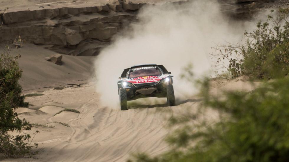 Dakar 2018: Carlos Sainz, sancionado con 10 minutos