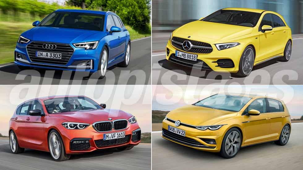 Revista Autopista 3038: así serán los nuevos Mercedes Clase A, Audi A3, Serie 1…
