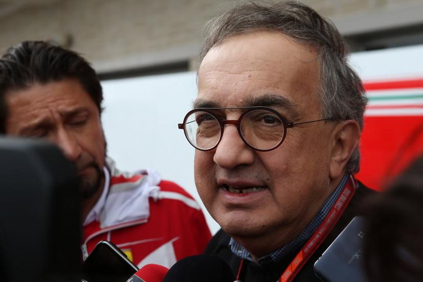 "Marchionne en Detroit: ""Me tendría que tocar la Lotería para comprar Ferrari"""
