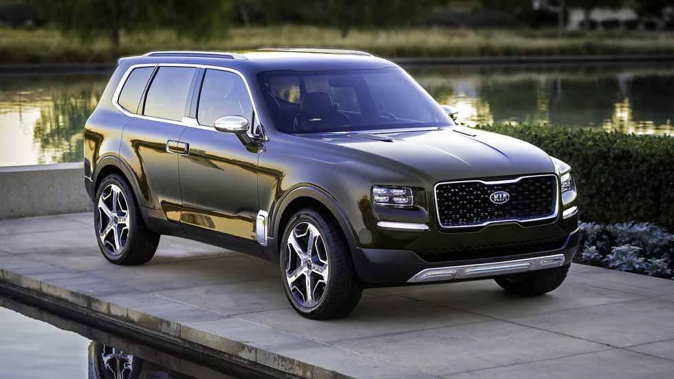 Kia Telluride: confirmado el nuevo SUV hermano del Sportage