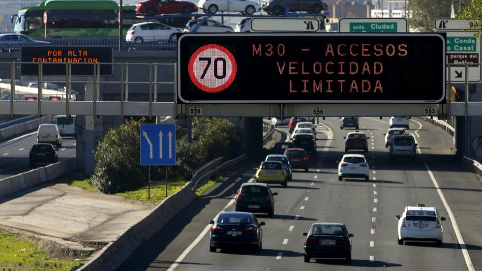 Madrid vuelve a superar los límites anuales de contaminación… ¡y van 8 años!
