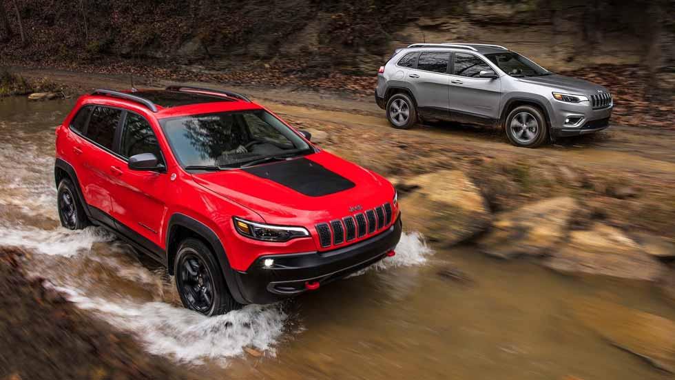 Jeep Cherokee 2019: con mejoras mecánicas y de equipamiento