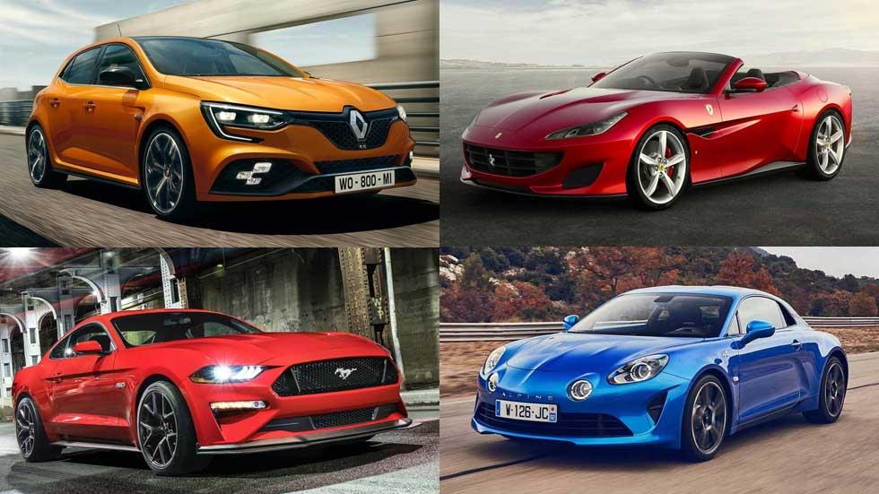 Posiblemente, los 10 mejores coches deportivos de 2018