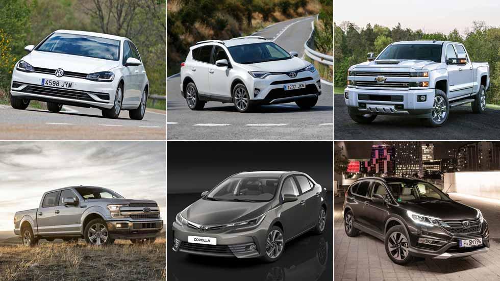 Los 20 coches y SUV más vendidos en el mundo en 2017
