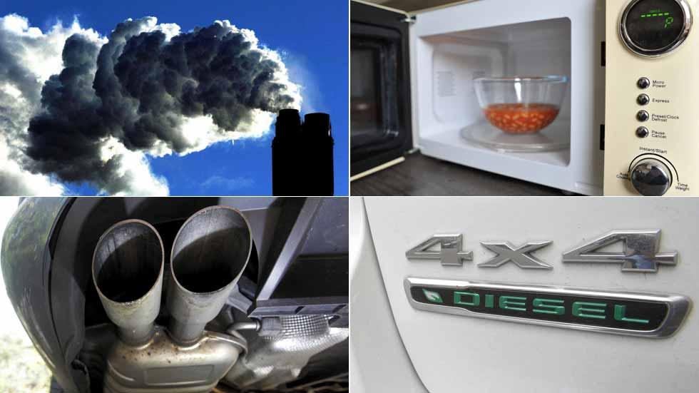 Los microondas en Europa contaminan casi lo mismo que 6,8 millones de coches