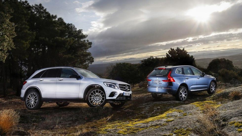 Volvo XC60 D4 AWD vs Mercedes GLC 250 d 4Matic: ¿cuál es mejor SUV?