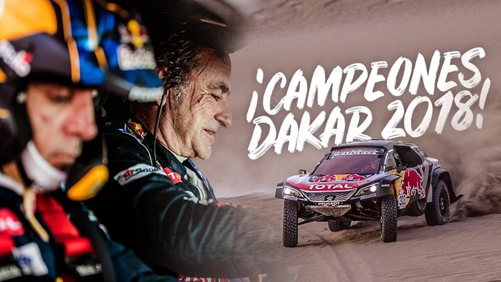¡La ganamos, Lucas! Carlos Sainz, un piloto de leyenda