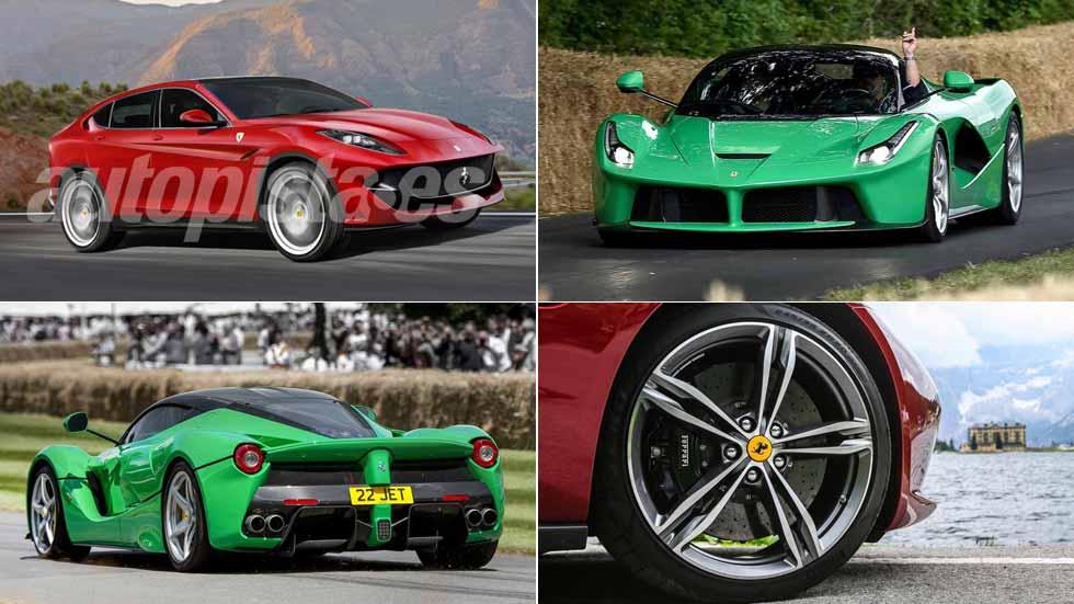 Los planes futuros de Ferrari: un SUV, un deportivo eléctrico…