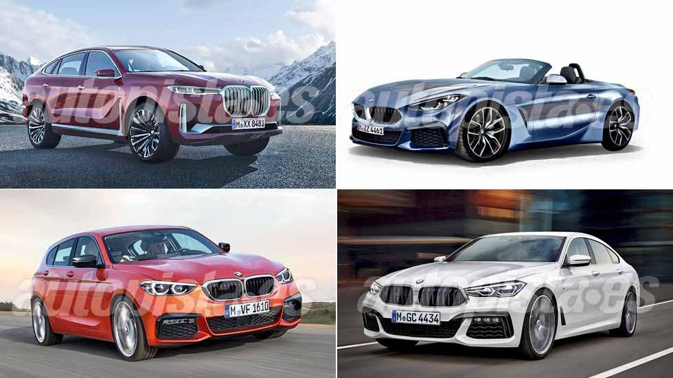 Revista Autopista 3039: todo lo nuevo de BMW hasta 2020, del Serie 1 al X8