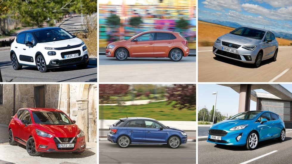 ¿El mejor utilitario? El VW Polo contra todos: Ibiza, 208, Clio, Fiesta, A1…