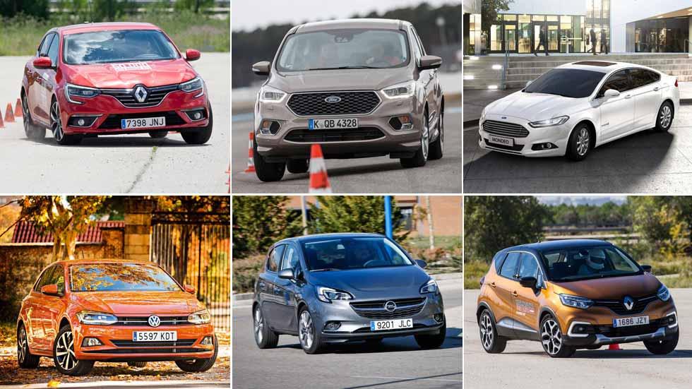 Los coches que se fabrican en España más vendidos en el mundo
