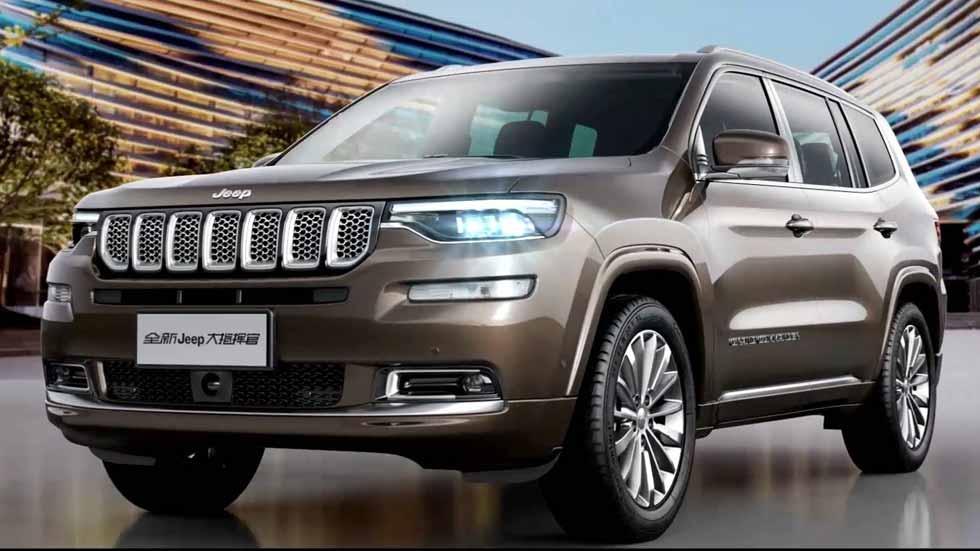 Jeep Grand Commander: así es el nuevo SUV de 7 plazas (fotos y vídeo)