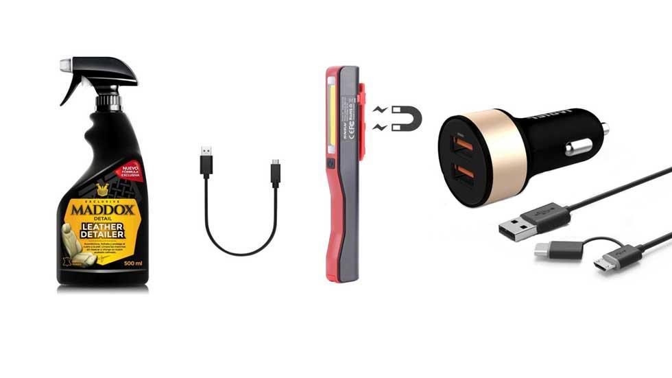 Los 10 accesorios más útiles para coches que puedes comprar en Amazon