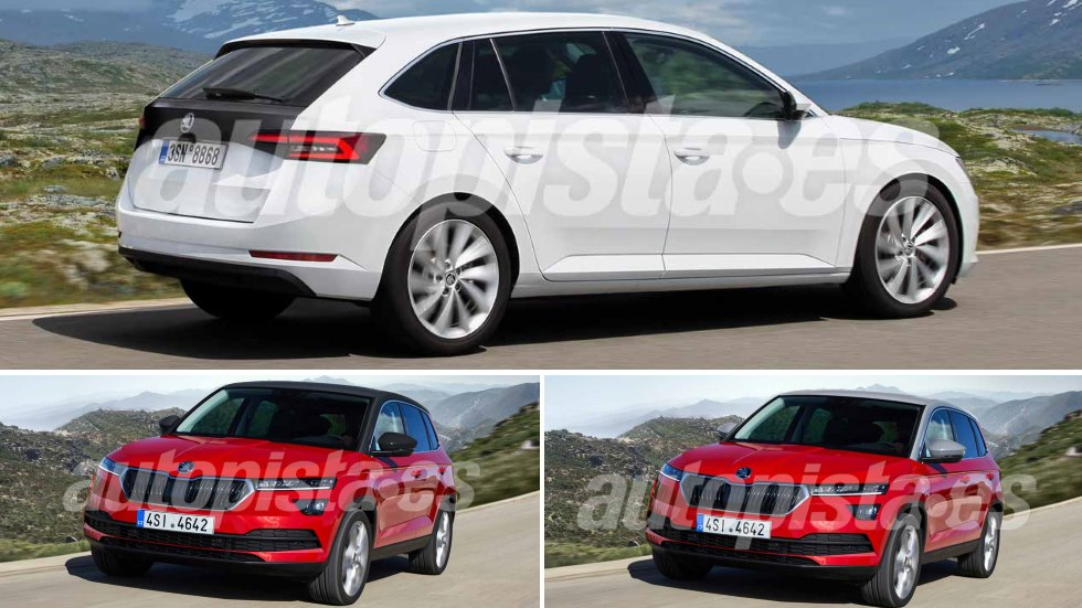 skoda spaceback y crossover 2019 la revoluci n que llega a skoda. Black Bedroom Furniture Sets. Home Design Ideas