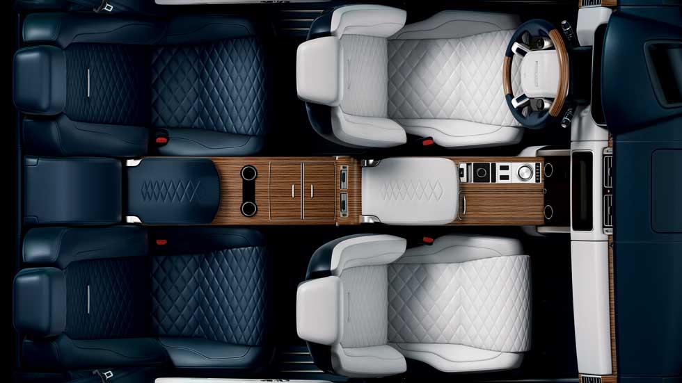 Range Rover SV: nuevo SUV deportivo-coupé en el Salón de Ginebra