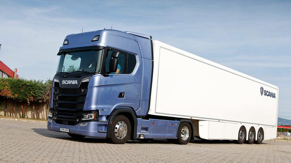 Scania S730: a prueba uno de los camiones más potentes del momento