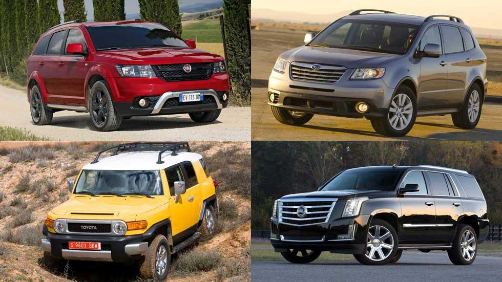 Los SUV también mueren: modelos que han dejado de fabricarse