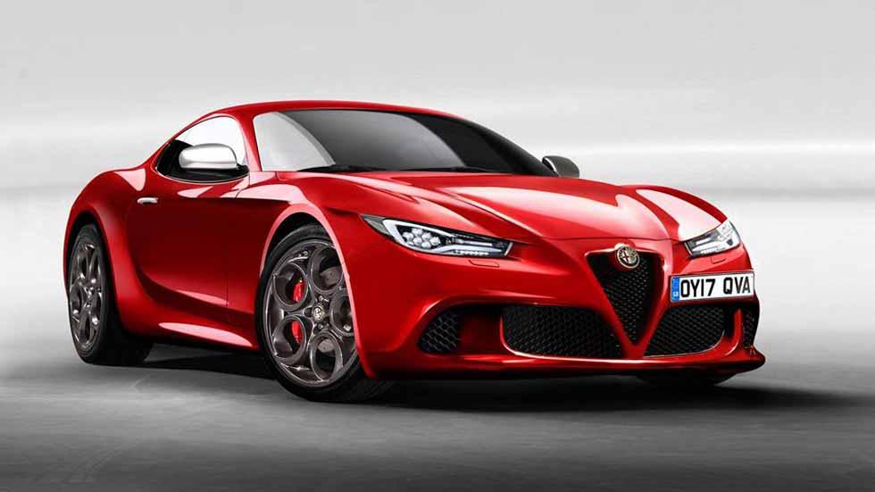 Alfa Romeo 6C: el nuevo coupé deportivo podría llegar en 2020