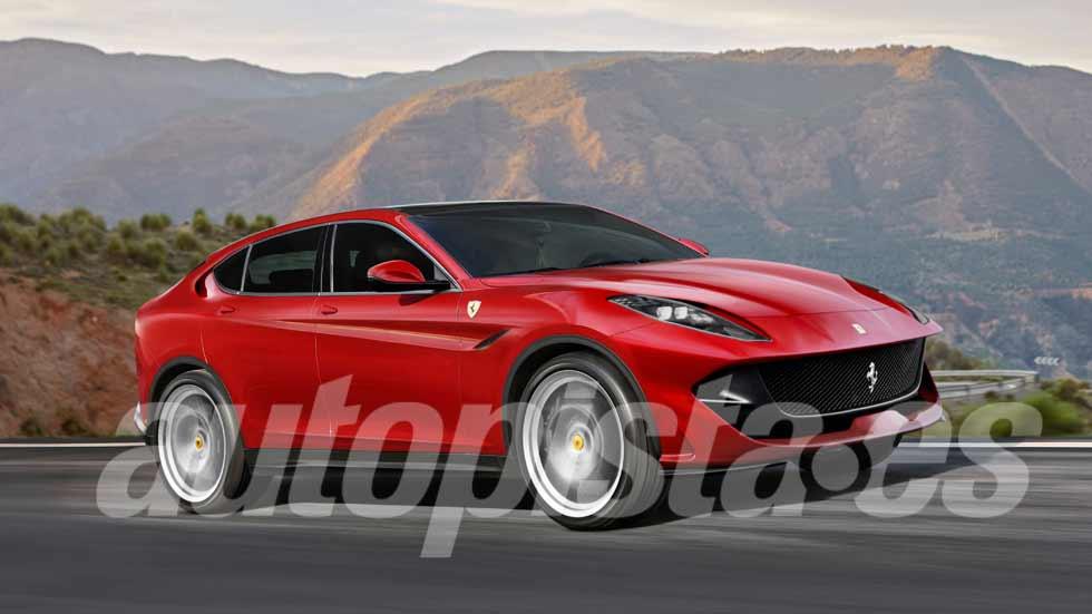 El SUV de Ferrari podría ser realidad ya en 2019