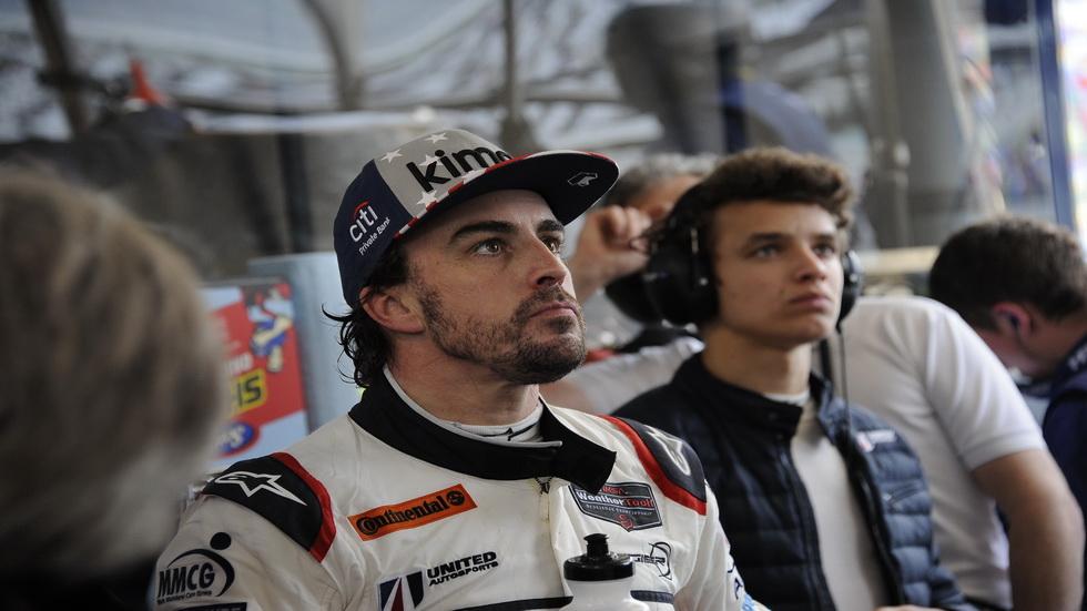 24 Horas de Daytona: Alonso vuelve a salir a la pista