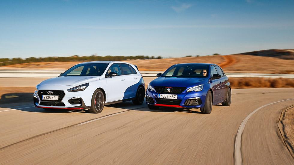 Comparativa Hyundai i30 N vs Peugeot 308 GTI: deportivos para todos los días