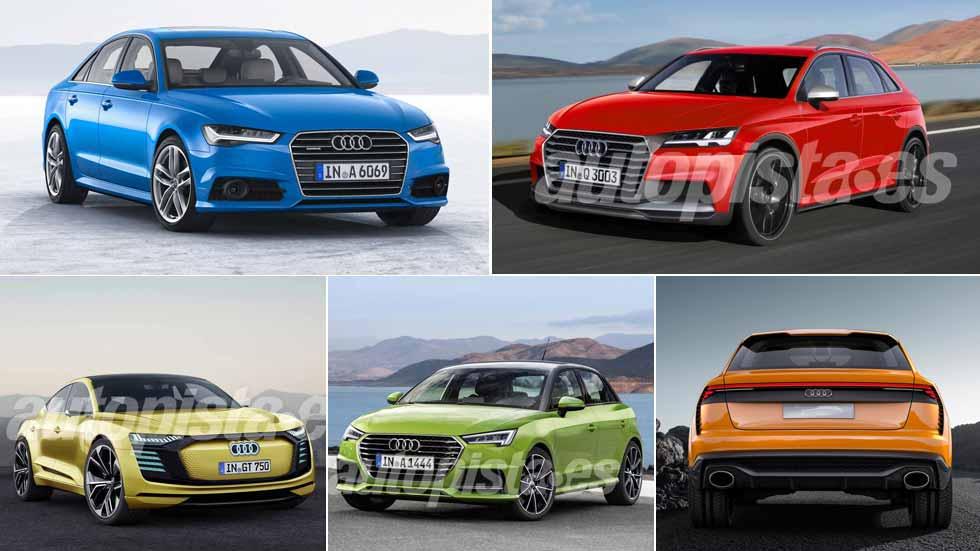 Todos los nuevos Audi que llegarán hasta 2024: A1, A4, Q3, Q4, Q8, TT…