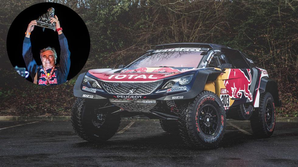 Así es el Peugeot 3008 DKR Maxi que ha ganado el Dakar