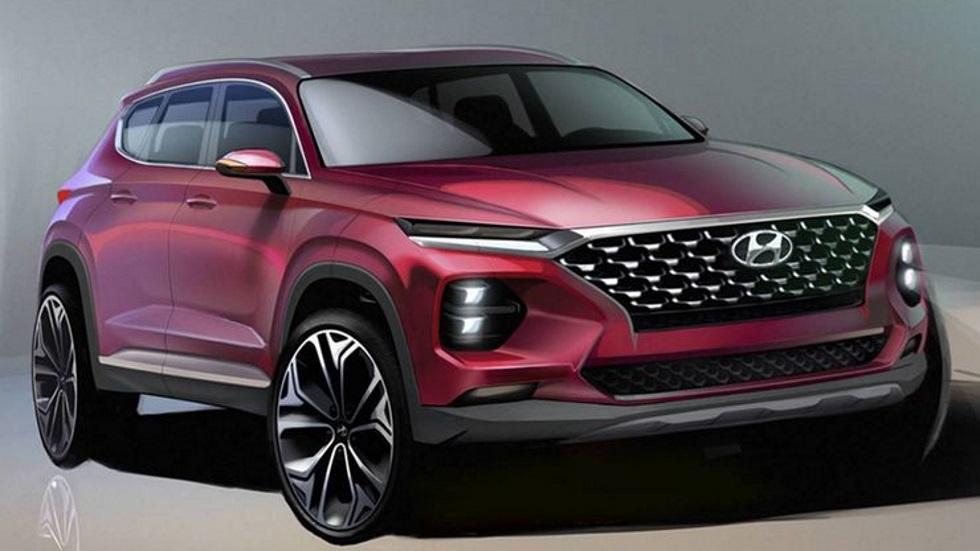 Hyundai Santa Fe 2018: más fotos y datos del gran SUV que llega en junio