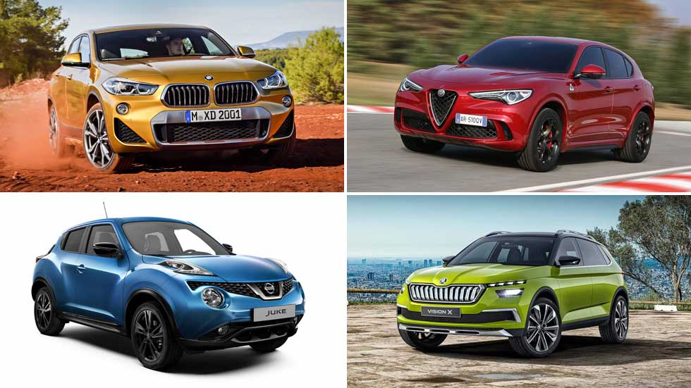 Todos los nuevos SUV de 2018: X2, Q8, Tucson, CX-5, Tiguan Coupé...