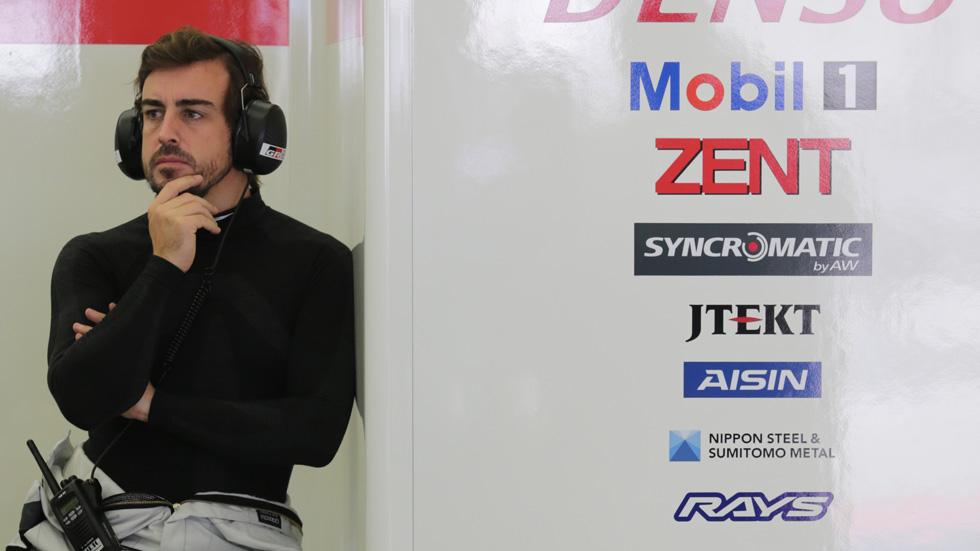 Oficial: Fernando Alonso correrá con Toyota las 24 Horas de Le Mans