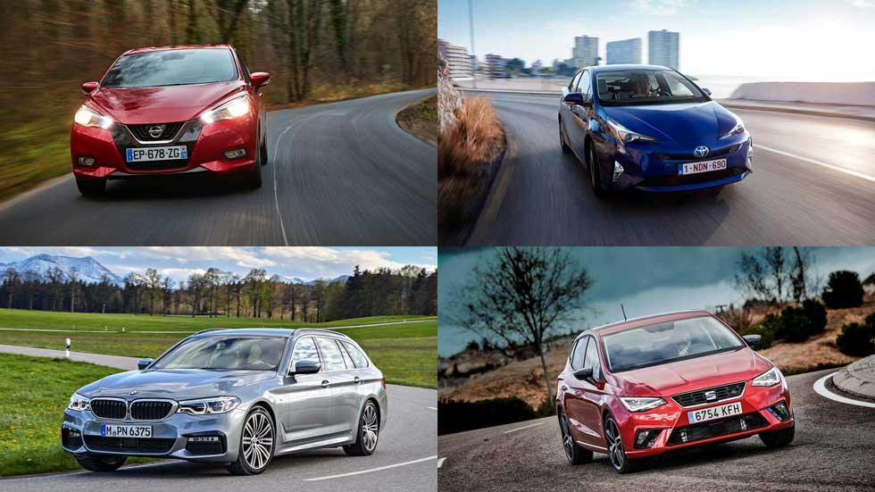 Los coches y SUV más y menos fiables del mercado, según la OCU