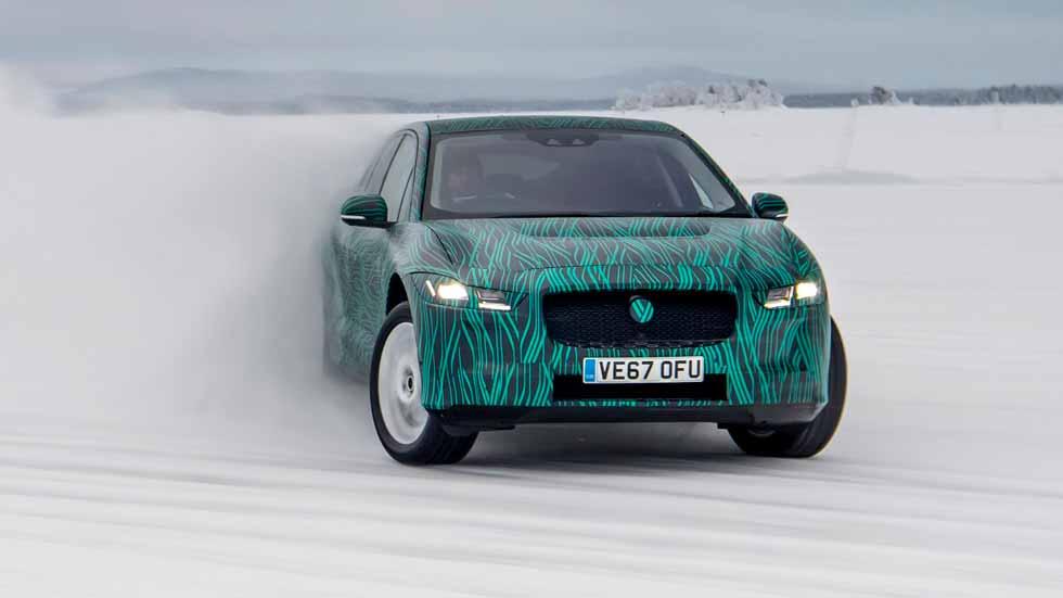Nuevo SUV Jaguar I-Pace: así se prueba de forma extrema (Vídeo)