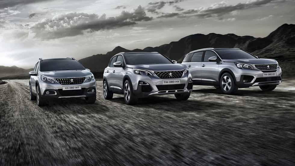 Nuevos Peugeot 2008, 3008 y 5008 Crossway: unos SUV muy aventureros y equipados