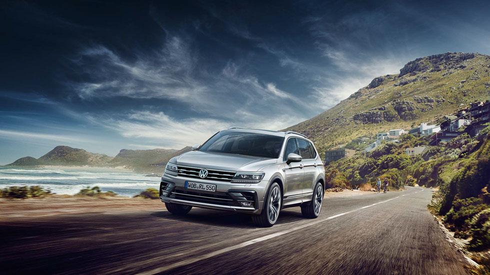 Nuevo VW Tiguan Allspace R-Line: el SUV de 7 plazas, ahora más deportivo