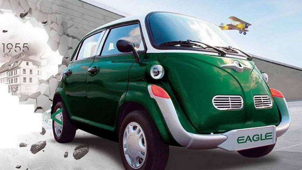 El Isetta del siglo XXI es ¡eléctrico y chino! ¿Otra copia más?
