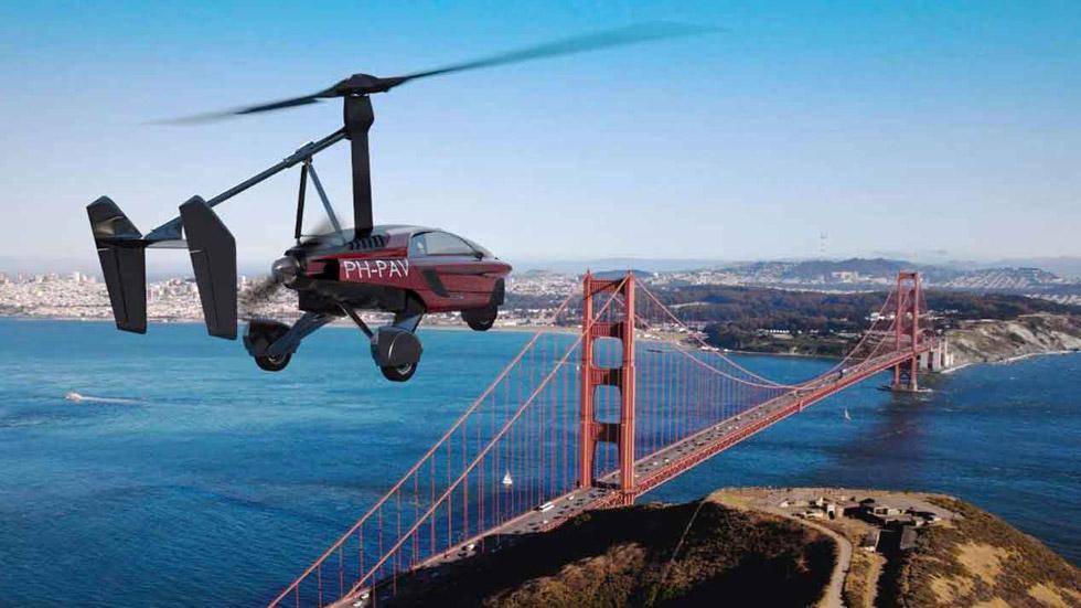 PAL-V Liberty: así es el primer coche volador para el Salón de Ginebra (VÍDEO)